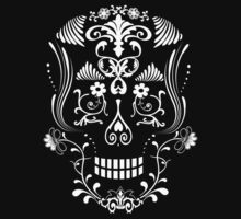 Day of the Dead Skull  by VenusOak