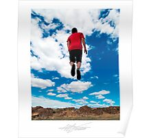 A Young Man's Leap Into Life Poster