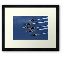 Six-Pack Framed Print