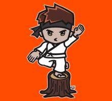 Martial Arts/Karate Boy - Crane one-legged stance Kids Clothes