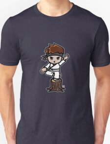 Martial Arts/Karate Boy - Crane one-legged stance Unisex T-Shirt