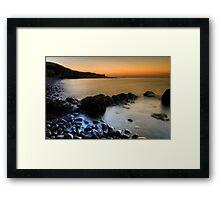 Lower Milovaig Sunset Framed Print
