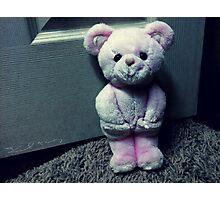 Chillin Teddy Photographic Print