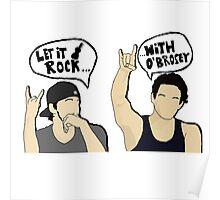 O'Brosey - Rock Poster