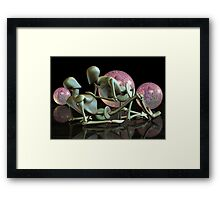 The Future of Intimacy Framed Print