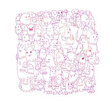 Most Ghost (pink) Photographic Print
