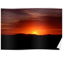 Superstition Sunrise III Poster