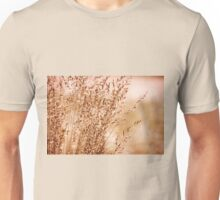 Bunch of sepia toned grass Unisex T-Shirt