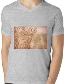 Bunch of sepia toned grass Mens V-Neck T-Shirt