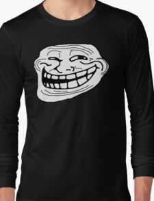 Trollface Long Sleeve T-Shirt