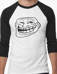 Trollface Men's Baseball ¾ T-Shirt
