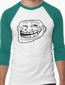 Trollface Men's Baseball ¾ T-Shirt