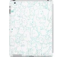 Most Ghost (blue) iPad Case/Skin