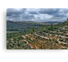 Jerusalem - Ein Kerem Canvas Print