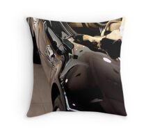Behind the wheel ... Throw Pillow