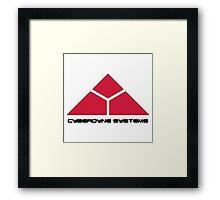 Cyberdyne Logo Design #2 Framed Print