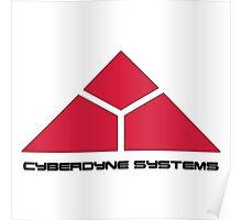 Cyberdyne Logo Design #2 Poster