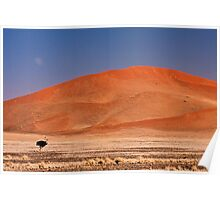 Two under a dune moon Poster