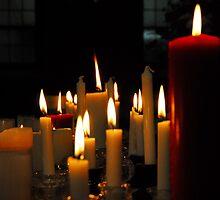 0180  Candles by Pitt Street  Uniting Church, Sydney