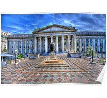 The Treasury Department - Washington DC Poster