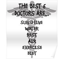 The Best Six Doctors Poster