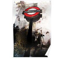 The London Underground 02 Poster