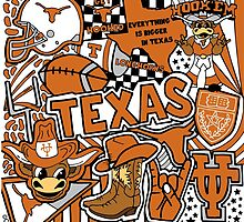 Texas Collage by coreybloomberg