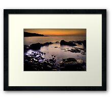 Sunset Skye Framed Print