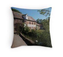 Throop Mill Throw Pillow