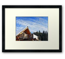 Beautiful Day in the Rockies Framed Print