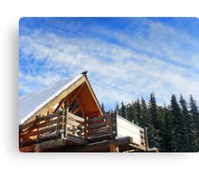 Beautiful Day in the Rockies Canvas Print