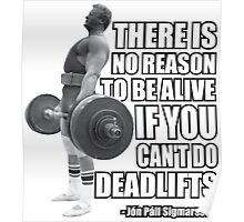 Deadlift Poster