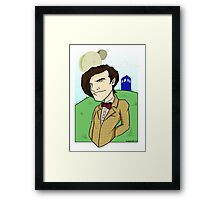 Dr Who - Matt Smith Framed Print