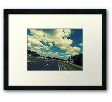 From out the Sunroof (challenge) Framed Print