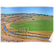 Patchwork - Somewhere Near Oberon NSW Australia - The HDR Experience Poster