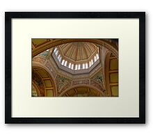 Royal Exhibition Building - (Dome) Open House 2011 Framed Print