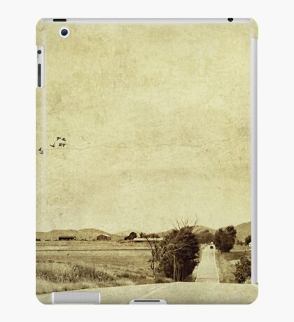 We're on the road to nowhere iPad Case/Skin