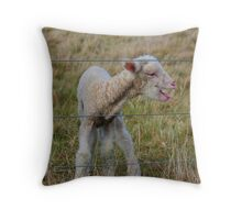 New born Throw Pillow