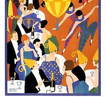 Brightest London Vintage Poster Restored by Carsten Reisinger