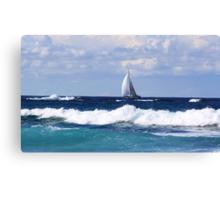 sails at kingscliff ... Canvas Print