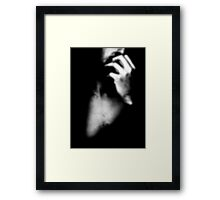 "Hope Series: ""Think, and your thoughts will make you grand"" Framed Print"