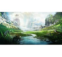 The Mystical River Photographic Print