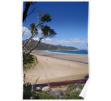 Where Tidal River meets the sea, Wilson's Promontory Poster