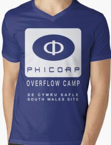Torchwood: PhiCorp camps Mens V-Neck T-Shirt