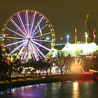 Melbourne Wheel and Circus by Paul Campbell Psychology