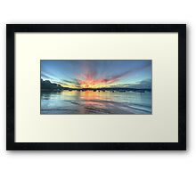 Adventures In Paradise - Clareville, Sydney Australia - The HDR Experience Framed Print