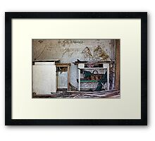 """The house that time forgot"" Framed Print"