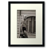 Yeah.. I'm ripped... you know it! Framed Print