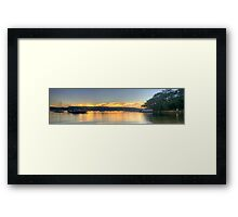 Tranquility - Paradise Beach,Sydney - The HDR Experience Framed Print