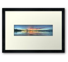 Adventures In Paradise - Clareville, Sydney ( HDR Panorama) - The HDR Experience Framed Print
